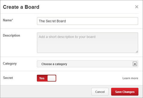How to Create Private or Secret Boards on Pinterest | Pinterest | Scoop.it
