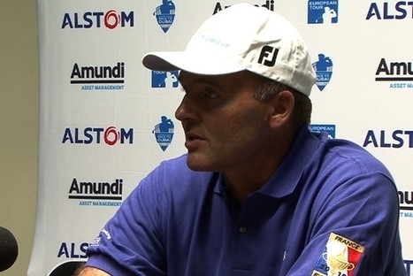 Open de France : Thomas Levet en conference de presse - Le Figaro | Golf News by Mygolfexpert.com | Scoop.it