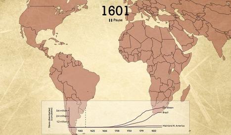 La traite négrière transatlantique résumée en une infographie de deux minutes   La Longue-vue   Scoop.it