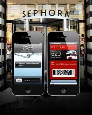 SEPHORA-to-GO : le portefeuille digital de Sephora | | CA Com | E-commerce, M-commerce : digital revolution | Scoop.it