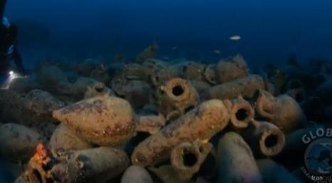 Italie : des amphores datant de l'antiquité retrouvées dans une épave grecque | Bibliothèque des sciences de l'Antiquité | Scoop.it