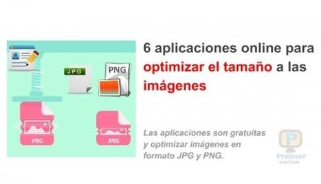 6 #AplicacionesOnline para optimizar imágenes sin perder la calidad | Profesoronline | Scoop.it