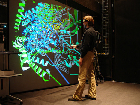 Interactive 3D protein structures on a virtual reality wall | emergent-complexity | Scoop.it
