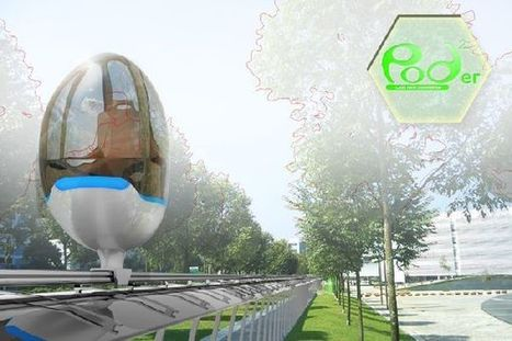 Podder: A futuristic form of public transport set in Singapore 2020 | Future_Cities | Scoop.it