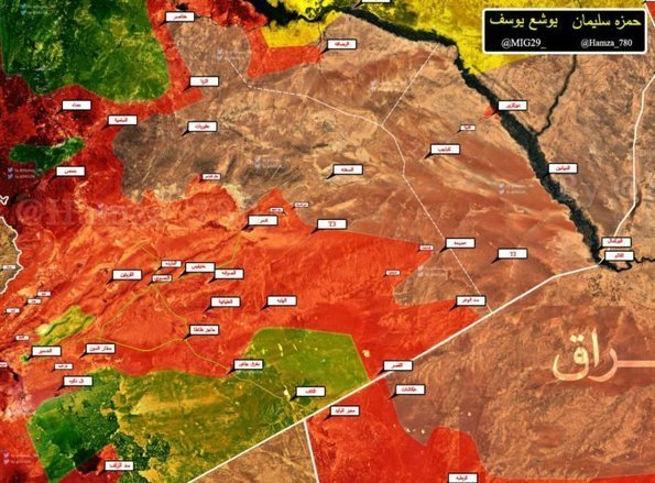 map field report military situation in easte