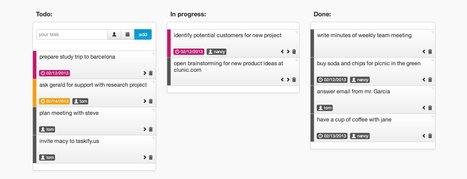 Taskify outil simple et gratuit en ligne pour gérer les tâches d'un projet | François MAGNAN  Formateur Consultant | Scoop.it