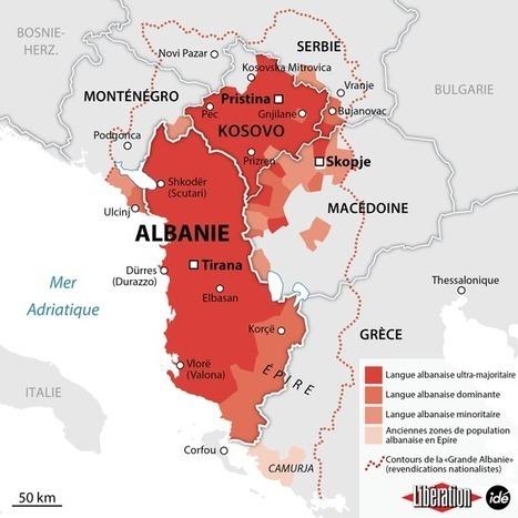 La Grande Albanie, l'essence d'une nation (Géographies en mouvement) | Géographie des Balkans | Scoop.it