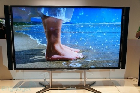 Sony's Ultra High Definition TV will come with world's first 4K delivery system | Great Geeky Gadgets | Scoop.it
