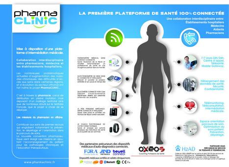 www.PharmaClinic.fr la santé connectée au service de la prévention et l'observance des patients en pharmacie. | Innovation et télémédecine | Scoop.it