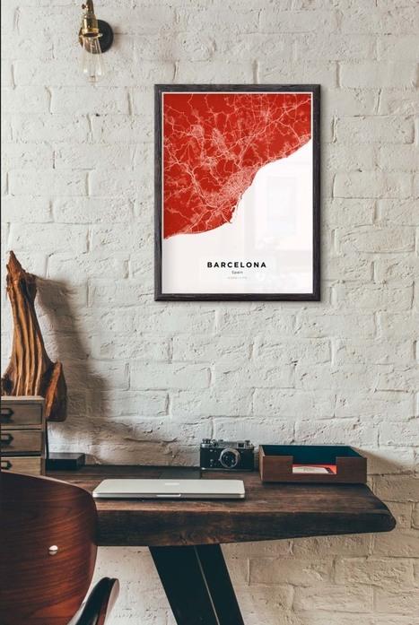 custom wall maps\' in Create Custom Map Posters | Scoop.it