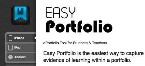 Easy Portfolio | e-Portfolio Tool for Students & Teachers | Tools for Teachers & Learners | Scoop.it