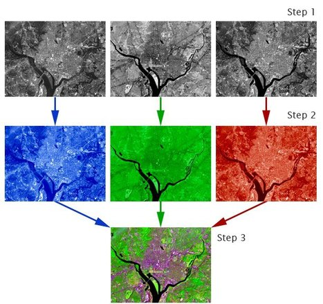 How are satellite images different from photographs? | Geography Education & Teaching Practice | Scoop.it