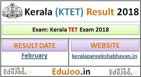 KTET Result 2018 keralapareekshabhavan in Keral