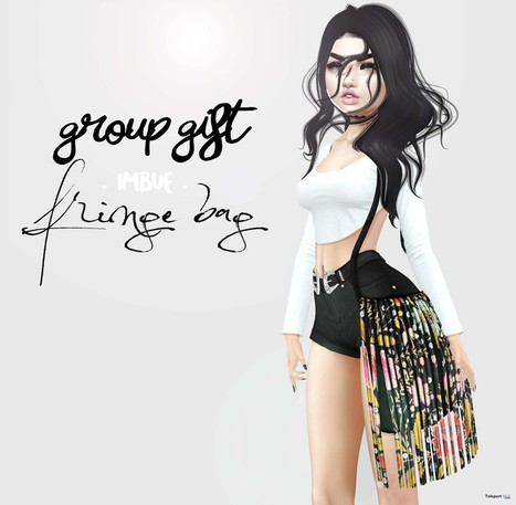 Floral Fringe Bag Group Gift by imbue   Teleport Hub - Second Life Freebies   Second Life Freebies   Scoop.it