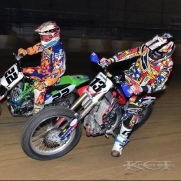 Luke Baird Race Report: Race Report- First round of Indoors at Du Quoin | California Flat Track Association (CFTA) | Scoop.it