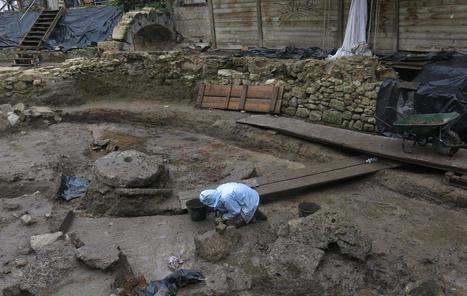 Les restes d'un moulin vieux de 1 000 ans découverts à Saint-Denis | Histoire et Archéologie | Scoop.it