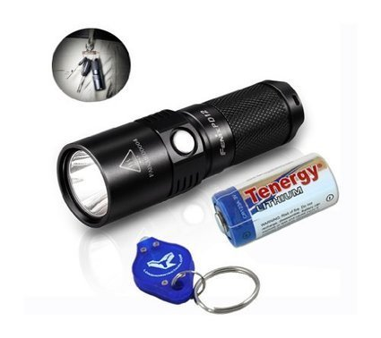 Bundle  Fenix PD12 360 Lumens Brightest Keychain LED Flashlight afa59cf8ae
