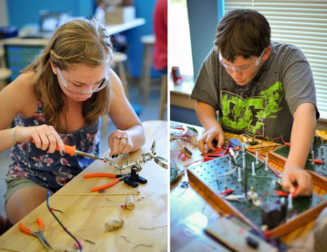 Makerspaces in Education and DARPA | Make | STEM News, Tools and Resources | Scoop.it