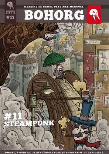 Steampunk - Bohorg webzine de BD mensuel et gratuit   Choose Steampunk   Scoop.it