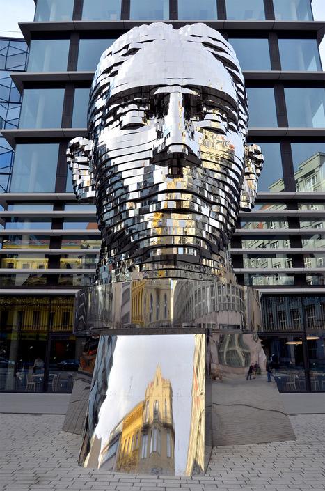 Czech Republic: A Rotating 42-Layer Sculpture of Franz Kafka's Head by David Cerny | Beyond London Life | Scoop.it