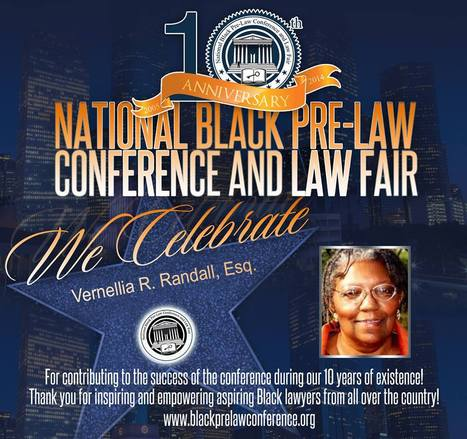 Dr. Vernellia R. Randall Honored by National law conference   OUR COMMON GROUND Guest Profiles   Scoop.it