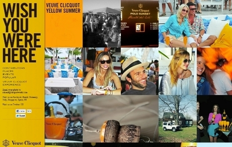 Veuve Clicquot sabre le champagne communautaire | My Vision of Digital Marketing | champagne & marketing | Scoop.it