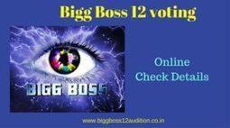 Bigg Boss 12 Voting Polls Live [BB12 Online Vot
