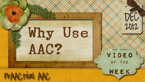 Why Use AAC?   Augmentative and Alternative Communication (AAC)   Scoop.it
