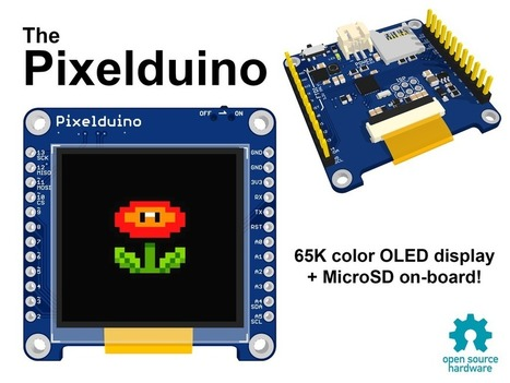 Pixelduino - The Arduino with an awesome OLED display! | Arduino progz | Scoop.it