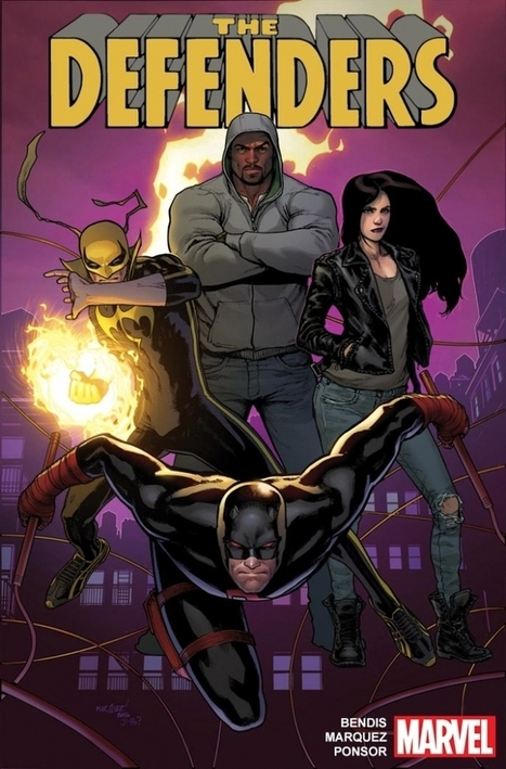 Marvel's The Defenders Get New Comic Book Series | Comic Book Trends | Scoop.it