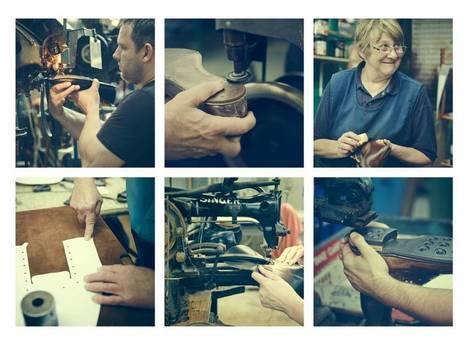 Alfred Sargent, l'art et la matière | Métiers, emplois et formations dans la filière cuir | Scoop.it