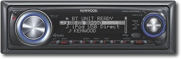 Kenwood KDC-MP638U USB/AAC/WMA/MP3 CD Receiver