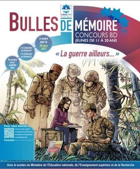 Lancement du concours de BD « Bulles de Mémoire » pour la première fois en Pays de la Loire - [ONACVG] | Histoire 2 guerres | Scoop.it
