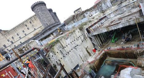 Napoli, viaggio nel cantiere Metro<br/>tra archeologia e futuro | Girando in rete... | Scoop.it