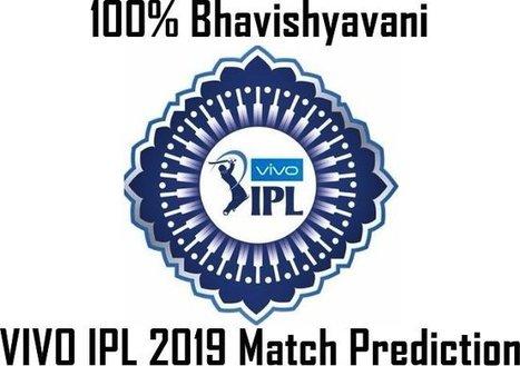 VIVO IPL 2019 All Match Prediction 100% Indian