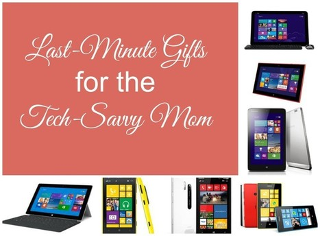 Last-Minute Gifts for the Tech-Savvy Mom | Mama of 3 Munchkins | Tech Moms | Scoop.it