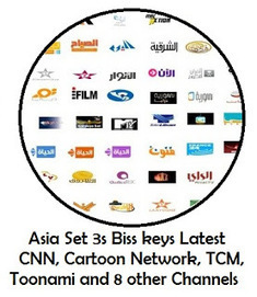 Asiasat 3s All Channels Biss Keys Latest Update
