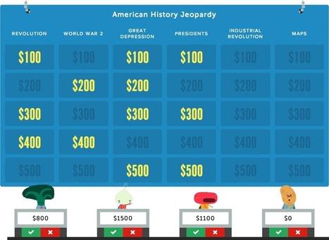 Jeopardy Rocks - Jeopardy game creator for teachers | Knowledge Engineering | Scoop.it