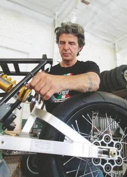 His racing days behind him, Walt Siegl builds unique motorcycles in his Harrisville shop | New Hampshire | Ductalk Ducati News | Scoop.it