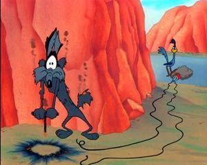 Wile E. Coyote and Print Publishing | AJCann | Scoop.it