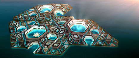 Floating cities: Is the ocean humanity's next frontier? | biomimicry as design strategy | Scoop.it