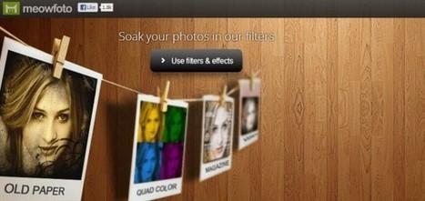 Meowfoto, crea collages con fotos de Facebook y edítalas.- | Antonio Galvez | Scoop.it