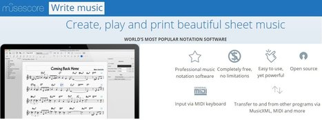 MuseScore: Free music composition and notation