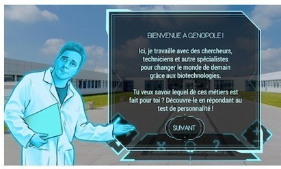 Un serious game pour explorer les biotechnologies et leurs métiers  | GAMIFICATION & SERIOUS GAMES IN HEALTH by PHARMAGEEK | Scoop.it
