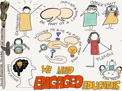 We Need Engaged Educators - Sylvia Rosenthal Tolisano @langwitches | Education, Curiosity, and Happiness | Scoop.it