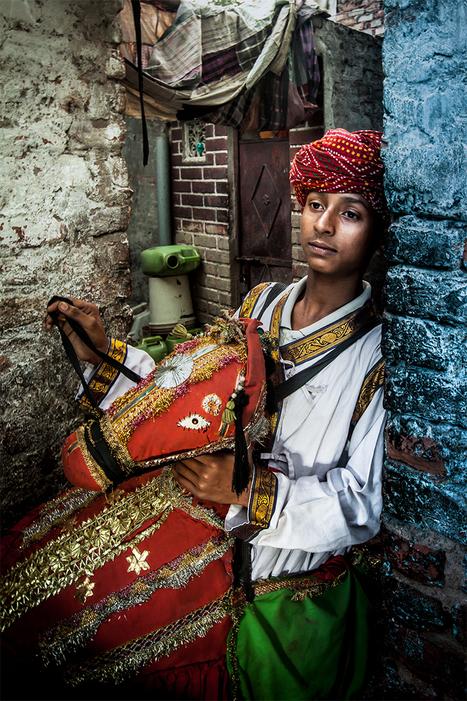 Le danseur de Kacchi ghodi | Serge Bouvet, photographe reporter | photography | Scoop.it