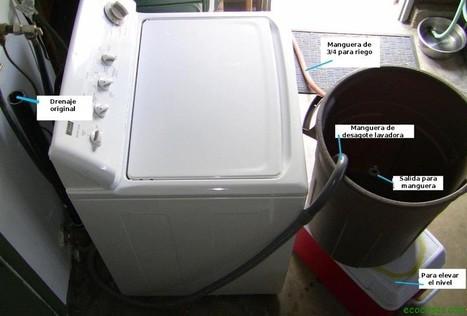 Reutilizar el agua de la lavadora   Acción positiva: #Alternativas   Scoop.it