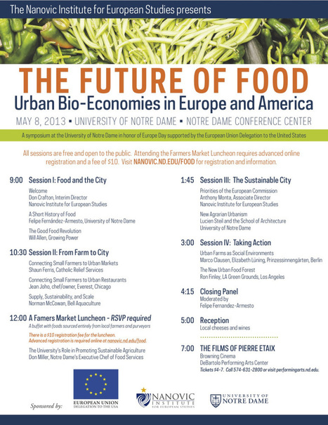 "Laura Bruno - ""The Future Of Food : Urban Bio-Economies In Europe And America""  At The Nanovic Institute - 4 May 2013 