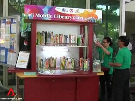 Mobile library carts introduced to provide jobs for older job seekers - Channel NewsAsia | The Information Professional | Scoop.it