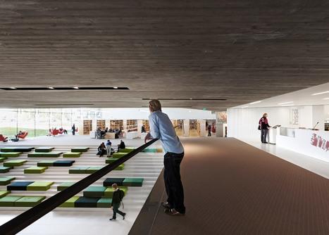 Subterranean tunnel links Seinäjoki library with Aalto's 1965 building | Sisu Bento Box | Scoop.it